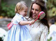 Princesa Charlotte dá show de fofura e solta primeira palavra em público: 'Dada'