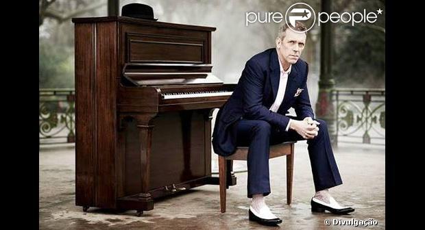 Hugh Laurie se apresenta no Brasil em março de 2014; britânico ficou famoso no seriado 'House', protagonizado por ele entre 2004 a 2012