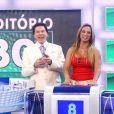 Valesca Popozuda não ficou feliz com o comentário de Silvio Santos sobre o seu bumbum turbinado: 'Tem muita gente que não tem prótese e tem o bumbum melhor do que o seu'