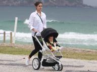 Sophie Charlotte é clicada passeando com o filho, Otto, em praia no Rio. Fotos!