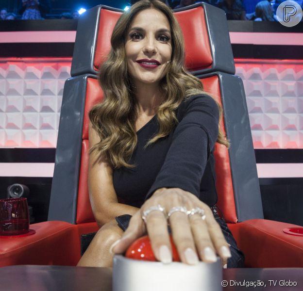 Ivete Sangalo vai dar suporte técnico aos quatro jurados do 'The Voice Brasil'