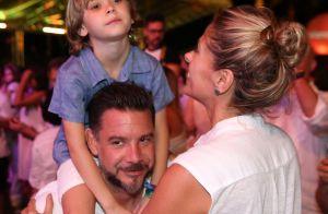 Adriane Galisteu e família curtem show de Carlinhos Brown em Salvador. Fotos!