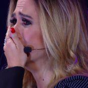 Tatá Werneck chora com homenagem musical dos pais no 'Tamanho Família'