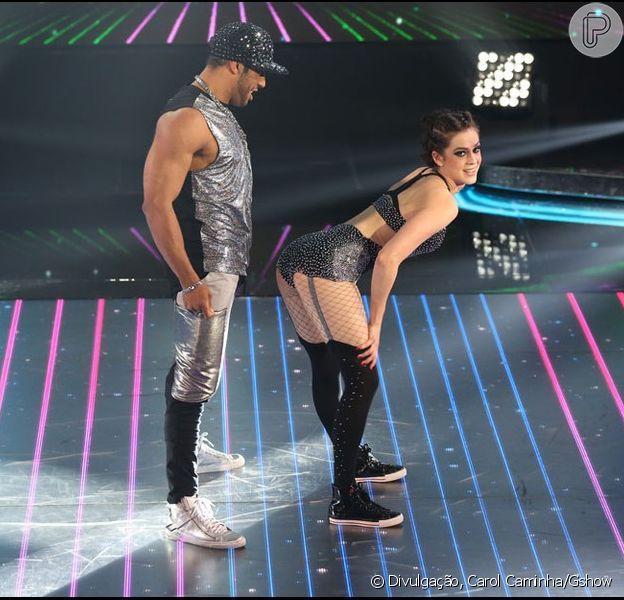 Sophia Abrahão segue em primeiro lugar no time das mulheres no quadro 'Dança dos Famosos'