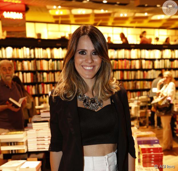 Fernanda Pontes está grávida do segundo filho. A informação é do colunista Leo Dias, do jornal carioca 'O Dia' de 16 de dezembro de 2013