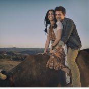 John Mayer divulga foto com Katy Perry nos bastidores do clipe de 'Who You Love'