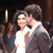Letícia Sabatella se casa com o sobrinho de Ziraldo, Fernando Alves Pinto, em SP