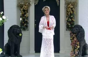 Ana Maria Braga abre as portas da sua casa e exibe a decoração de Natal