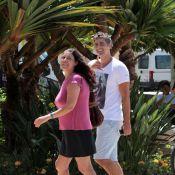 Reynaldo Gianecchini passeia com irmã em Jurerê Internacional, Florianópolis, SC