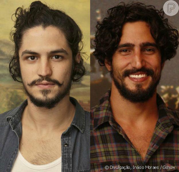 Gabriel Leone e Renato Góes serão irmãos na próxima novela das 23h da Globo