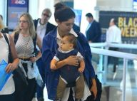Sophie Charlotte embarca com o filho, Otto, que rouba cena em aeroporto. Fotos!