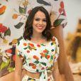 'Olha quem está aqui também', disse Julia Faria ao compartilhar vídeo no Instagram Stories