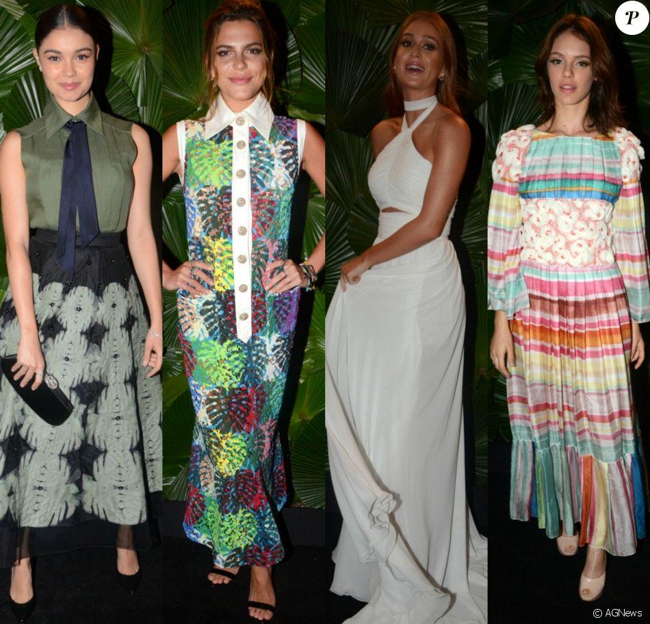 Famosas capricham nos looks para prestigiar jantar de gala beneficente organizado pelo BrazilFoundation e Chanel na noite desta terça-feira, 22 de novembro de 2016, em São Paulo. Veja fotos!