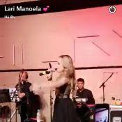 Larissa Manoela canta e dança 'Show das Poderosas' com Tiago Abravanel. Vídeo!