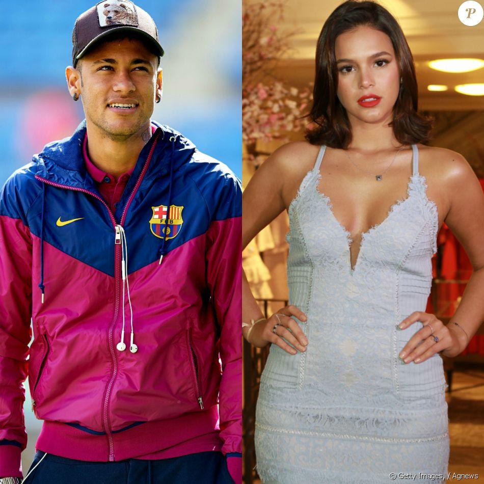 Neymar postou foto no Snapchat e deixou escapar quadro de Bruna Marquezine  na parede casa. 719466f2c2