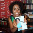 Maria Júlia Coutinho, a Maju, acaba de lançar o livro 'Entrando no Clima'