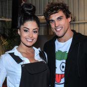 Felipe Roque, de 'Malhação', elogia filho da namorada, Aline Riscado: 'Só farra'