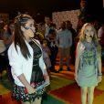 Larissa Manoela e Maisa Silva se encontraram no mesmo palco para apresentar a novela 'Carinha de Anjo', do SBT, para o mercado publicitário. O evento aconteceu em São Paulo neste sábado, 26 de novembro de 2016