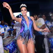 Carnaval: Daniela Albuquerque aposta em decote até o umbigo em noite de samba