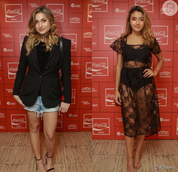 Sasha e Carolina Oliveira posaram para uma campanha de moda no outono do Japão