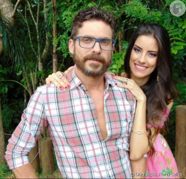 Casado com Thayra Machado, Hudson recebeu a notícia de que será pai de novo na televisão, neste domingo, 27 de novembro de 2016