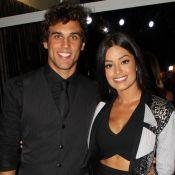 Aline Riscado e namorado, Felipe Roque, se preparam para peça: 'Aula de canto'