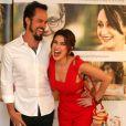 Paulo Vilhena se diverte ao posar com Fernanda Paes Leme