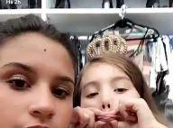 Giulia Costa paparica irmã, Olívia, de 6 anos, em vídeo na web: 'Não resisto'
