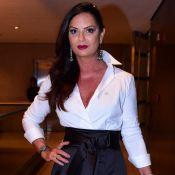 Luiza Brunet chorou ao lembrar agressão de Lírio Parisotto em audiência:'Emoção'