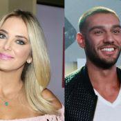 Ticiane Pinheiro brinca com rumor de namoro com Lucas Lucco: 'Pelo menos é gato'