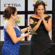 Gloria Pires foi homenageada do Prêmio Extra de TV