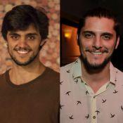 Felipe Simas e Bruno Gissoni trocam dicas de paternidade: 'A gente erra muito'