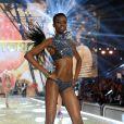 A angolana  Maria Borges fez sua estreia no desfile da grife norte-americana