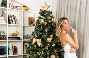 Giovanna Ewbank faz homenagem para a filha, Títi, em árvore de Natal. Fotos!