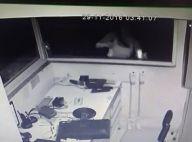 Veja vídeo da ex-namorada de Hugo Gross quebrando objetos do prédio do ator!