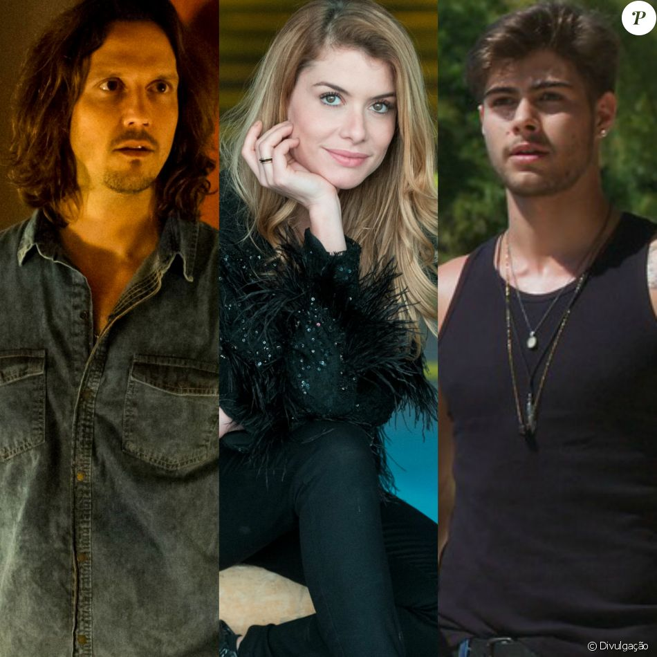 Diana (Alinne Moraes) será flagrada por Léo (Rafael Vitti) beijando o ex-marido, Gui (Vladimir Brichta), na novela 'Rock Story'