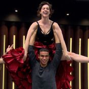 Sérgio Malheiros 'reclama' com professor de Sophia Abrahão no 'Dança': 'Tá roxa'