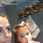 Deborah Secco mostra preparativos para Natal com a filha: 'Árvore da Maria'