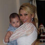 Salvatore, filho de Antonia Fontenelle, esbanja fofura aos 4 meses em bazar