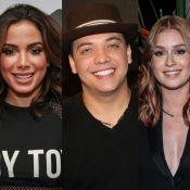 Anitta, Wesley Safadão e Marina Ruy Barbosa compõem amigo-oculto do 'Fantástico'