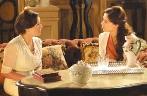 'Lado a Lado': Sandra (Priscila Sol) diz a Laura (Estiano) que não é mais virgem