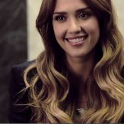 Jéssica Alba estrela campanha brasileira cantando 'Para nossa alegria'