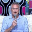 Pedro Bial: 'Gostaria de ter sido o Wesley para ter dado uns beijinhos na Maria'