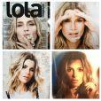 Flávia Alessandra publica montagem com as fotos do ensaio para a revista 'Lola', de janeiro de 2013