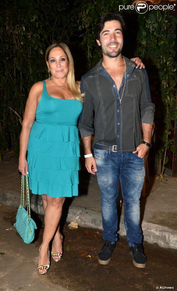 Susana Vieira admitiu que término de namoro com Sandro Pedroso está sendo sofrido