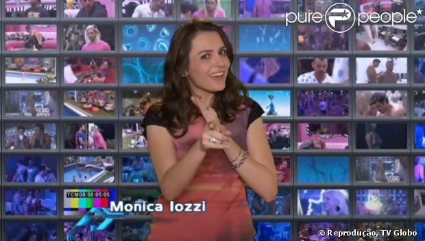 Monica Iozzi estreia na Globo como comentarista e não deixa de alfinetar participantes do 'BBB 14'