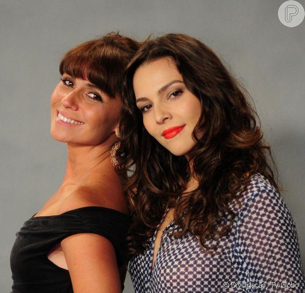 Giovanna Antonelli e Tainá Müller podem protagonizar beijo gay na novela 'Em Família'