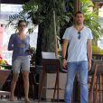 Cauã e Grazi já passaram parte das férias juntos em Fernando de Noronha