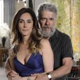 Na trama de Aguinaldo Silva, Christiane Torloni interpretou Tereza Cristina, que formava par romântico com o personagem de José Mayer, Pereirinha