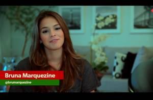 Bruna Marquezine fará uma participação virtual no desfile da Grande Rio